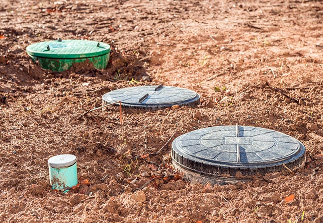 Septic tank system installed by McPherson's Septic Tank Cleaning Service